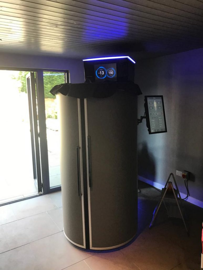 Cryotherapy for home use in the United Kingdom
